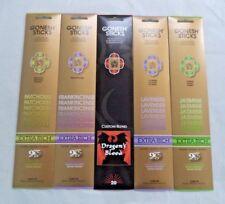 Gonesh Incense Sticks Variety Assortment - Lavender Jasmine - 5 Packs 20 Sticks