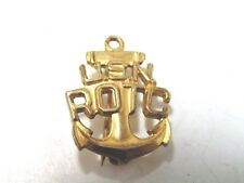 Gold Filled US Navy ROTC Military Pin