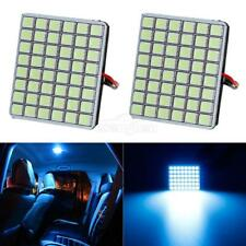 Universal 48-5050-SMD LED Panel Lights Ice Blue Interior Dome Map Trunk Lamp 12V