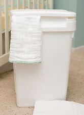 54 Qt Sturdy Plastic Easy to Clean Flip Top Cloth Diaper Pail Trash Can - 472500