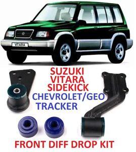 Front Diff drop kit for Suzuki Vitara Sidekick Chevrolet Geo Tracker 89-97 1,6L