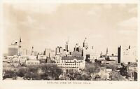 Vintage 1941 Real Photo Postcard RPPC Tulsa Oklahoma Skyline