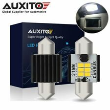 2X AUXITO Canbus 31MM Festoon LED Interior Number Plate Light Bulb 6000K White