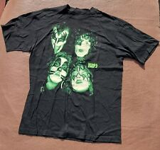 More details for kiss tee shirt vintage 1996 kiss glow in the dark size l cronies