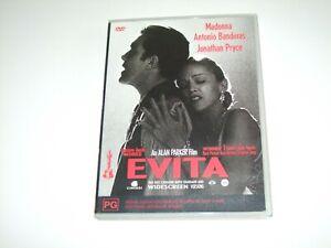 Evita - DVD **Free Postage** Madonna Antonio Banderas
