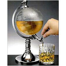 Globe Wine Drink Dispenser Beverage Pump Machine Beer Liquor Whiskey Canister Us