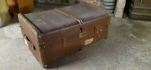 Vintage storage trunk chest