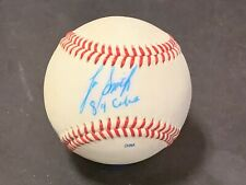 Lee Smith Cubs 84 Autographed Signed Official League Baseball IMPERFECT c
