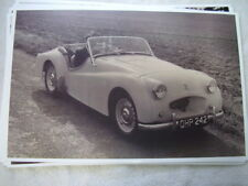 TRIUMPH TR2  ROADSTER   11 X 17  PHOTO  PICTURE