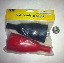Test Leads 50 amp NTE with full insulation boot  NEW