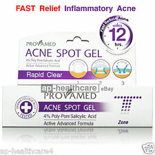 ProvaMed Acne Spot GEL Active Formula Salicylic Acid Rapid Clear 10g for T-zone