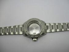Caja tipo GMT 40mm con su pulsera oyester acero para ETA 2824-2 estanco