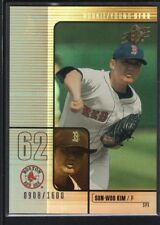 SUN-WOO KIM 2000 UD SPX #186 RC ROOKIE RED SOX SP MINT #0908/1600