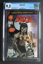 BRUCE LEE #1 1st MORTAL KOMBAT Comic Preview 1994 Malibu Reboot Movie CGC 9.2