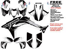 DFR TWIST GRAPHIC KIT BLACK FULL WRAP 06-07 HONDA TRX450R TRX 450 TRX450