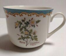 New listing Kent Pottery Floral Coffee Tea Mug Cup Rosa Candolleana Elegans Ivory 14 oz.