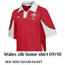 WALES  2009/10 HOME SHIRT TAGS/PACKET, XL BOYS