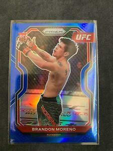 2021 UFC Panini Prizm Brandon Moreno Blue /199 RC ROOKIE 🇲🇽🇲🇽🇲🇽