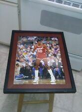 Ralph Sampson Houston Rockets Signed 11x14 Framed Photo NBA Virginia HOF