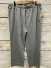 Tommy Bahama Lounge Pants Mens Size XL Grey Heather Knit Sleep Pants New