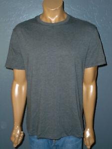 LULULEMON 5 Year Basic Tee CHARCOAL GRAY s/s Crewneck Five Year T-Shirt Mens LG