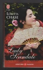 LADY SCANDALE Loretta Chase roman livre Erotique
