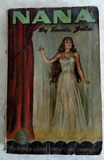 Emile Zola Nana Pocket Book Complete Unabridged PB 5th printing 1941