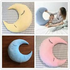 Plush Moon Star Cushion Sweet Dreams Childrens Baby Kid Nursery Pillow Gift