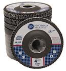 "10 Pack 4.5"" x 7/8' Jumbo 40 Grit Zirconia Flap Disc Grinding Wheels T29"