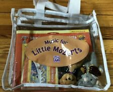 Alfred Music for Little Mozarts Deluxe Starter Kit AND add'l Teacher's Handbook!