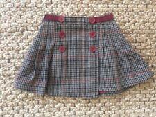 Crew Clothing Co Sweed Button Velvet Skirt Size 5 Yrs