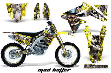 AMR Racing Suzuki RMZ450 Graphic Decals Number Plate Kit MX Stickers 08-15 MH Y