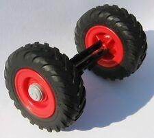 Playmobil Traktor Zubehör RÄDER Radachse aus 3718 ERSATZTEIL Hinterrad Rad