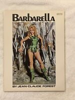 BARBARELLA GRAPHIC NOVEL 1968 2ND PRINTING  JEAN CLAUDE FOREST  GROVE PRESS