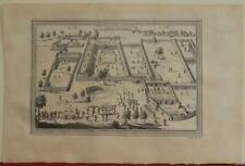 SAVI KINGDOM OF WHYDAH BENIN 1746 BELLIN ANTIQUE ORIGINAL COPPER ENGRAVED VIEW
