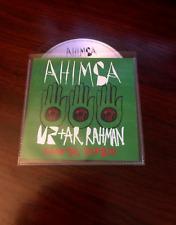 U2 + A.R RAHMAN - AHIMSA - KSHMR REMIX = RARE 1 TRACK BRAZILIAN PROMO CD