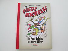 PIEDS NICKELES AUX SPORTS D'HIVER N°21 TTBE/NEUF DOS TOILE ROUGE LA COLLECTION