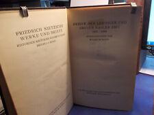 Nietzsche - Briefe 1865-1869 / Historisch-Kritische Gesamtausgabe 2. Band 1938