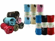 More details for value pack of small & big soft fleece cosy car blankets for pets dog cat puppy
