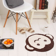 Monkey Mat - Kid's Room Rug Cute Monkey Mat Living Room Rug Modern Mat
