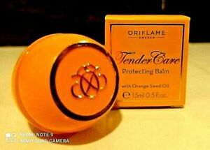 Tender Care Oriflame Protecting Lip Balm with Orange Seed Oil 15ml travel size