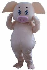 hot selling slaughter pig adut mascot costume fancy dress kids Birthday Hallowee