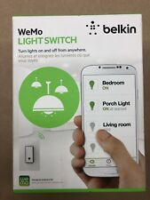 BELKIN WEMO LIGHTSWITCH - WIFI ENABLED