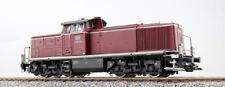 ESU 31230 Locomotora diésel, H0, V90 043 , DB, Rojo Viejo, Ep.III Sonido y Humo