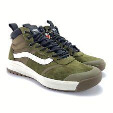 VANS Men's Ultrarange Hi DL MTE Beech Black Skate Shoes Size 10