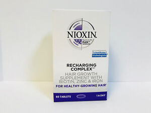 Nioxin Recharging Recharger Complex Vitamins - Hair Growth Supplement - 60 Day