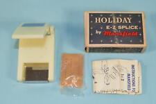 Vintage Mansfield Holiday E-Z Splice 8mm Film Cutter/Splicer 60s in Original Box
