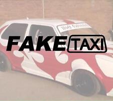Fake Taxi faketaxi Sticker JDM Autocollant Geil like fun Domo