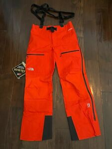 THE NORTH FACE - NWT - MEN'S SUMMIT SERIES  L5 GTX PRO PANT - MEDIUM - FIERY RED