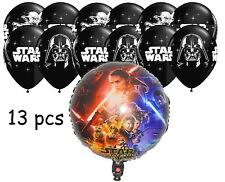 Star Wars The Force Awakens Helium Quality Foil + 12 Latex Balloons (13 pcs)